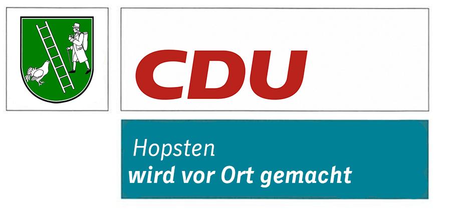 Logo von CDU Hopsten Schale Halverde